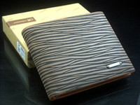 Wholesale 2014 New Brand Designer Fashion Leopard Men Leather Purse Soft Men s Pockets Credit Cards bag Clutch Wallet Mens wallets QB375