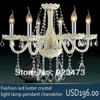 Cheap Contemporary crystal pendant light Best 220V LED pendant lamp