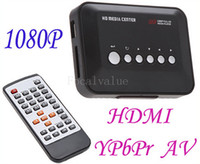 Wholesale Full HD Media Player Center RMVB RM H MKV AVI VOB HDD Player HDMI Output With Remote Controller