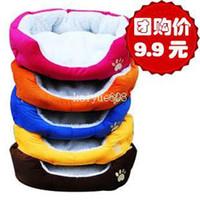 Wholesale Lowell dof berber fleece soft kennel8 cat litter dog mat cat mat pet nest pet bed