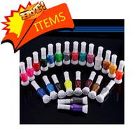 magnetic nail polish - 24 Colors Ways Nail Art Brush amp Nail Pen Varnish Polish Nail Tools Set