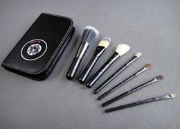 Wholesale 7pcs Eyeshadow Brusher Makeup Brush Set Kit With Zipper Bag Case best service from bond50