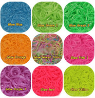 Rainbow Loom Refill Rubber Bands 600 Pcs & 24 Clips - Ne...