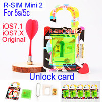 att mini sim card - New Original upgrade RSIM Mini2 R SIM mini R SIM Mini r sim mm Thin Unlock gpp GPP Card For Iphone C S IOS ios7 X ATT T M SB