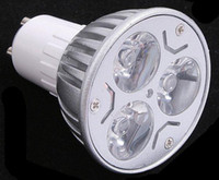85-265V 3W White 3W GU10 E27 LED Spot Light Bubble Dimmable 110V 220V Warm white Day White Cool white 3 X 1W Lighting Spotlights Lamparas High Power Bulbs
