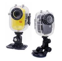 Wholesale FULL HD p Portable Sports M Waterproof Camera Video Camera Full HD DVR SJ1000 Action Camera
