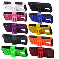 Hybrid Case Heavy Duty Durable TPU PC shockproof with stand ...