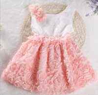 Summer high quality clothes - Summer Arrival Children Dress High Quality Rose Flower Chiffon Girl Vest Lace Dress Year Kid s Princesss Dresses Child Clothes GX106