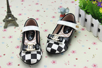 new model shoes - 2014 Spring new style Girls Single shoes Small sweet model loveliness bowknot Children Shoes Kids princess Shoe size pair TX298