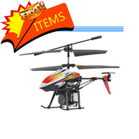 Wholesale CH Fountain Shoot Bladez Water Blaster WL V319 RC Helicopter Gyro Infrared Control