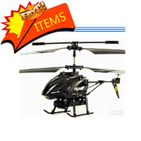 Wholesale F02636 CH WL S215 RC Helicopter Gyro with Camera Video By iPhone iPad iPod iTouch Samsung I9100 A