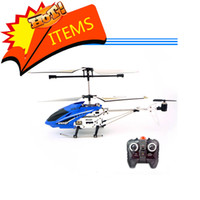 Wholesale Hard White Box Package CH Remote Control Helicopter Metal With GYRO R C Helicopter Radio Control