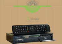 Receivers DVB-S  Skybox x solo mini mini solo with wifi digital satellite receiver tv box Free shipping