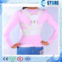 Cheap Magnetic Back Shoulder Corrector Posture Orthopedic Support Belt Brace,M