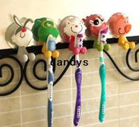 suction hook - Cute Cartoon Animal Sucker Toothbrush holder Suction hooks Hot Sale BJ dandys