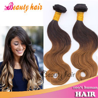 Cheap 98-102g Brazilian Virgin Hair Best Brazilian Hair Ombre Color Ombre Human Hair