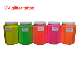 Wholesale 1 KG barrel High quality UV Glitter Tattoo Powder for Body Art Temporary Tattoo Body Painting