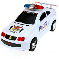Unisex 5-7 Years as picture Turn round cartoon Police car wagon squad car TOY Electric Toys with siren for children kid!Hot popular classic child kid police wagon TOY!