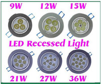 best cabinets - best Dimmable W W W W W W Cold White Warm White LED Recessed Cabinet Ceiling Downlight AC100 V For Home Lighting Decoration