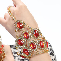 Wholesale Belly Dance accessories high grade diamond ring bracelet Jewelry belly dance India dance jewelry bracelet bracelet