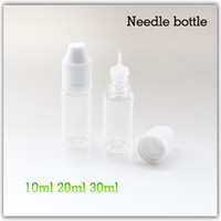 Electronic Cigarette needle bottles  needle bottle Empty e liquid e-liquid e-juice e juice bottle 10ml 20ml 30ml 50ml bottles PE PET for ego ce4 ecig ecigarette electronic cigarette