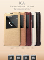 For Samsung TPU Yes [Supernova sale] KALAIDENG Cover Case for Samsung Galaxy note3 N9000 mtk6589t visible window caller ID Flip PU leather case