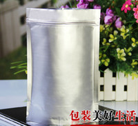 Wholesale Free Ship Fair price cm cm zip lock stand up Seal Stand Up aluminum foil bag Self Sealed Food Powder Bag