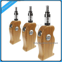 Single Wood Grain Wood Wooden Ecig Original Kamry K600 ECigarette Electronic Cigarette Battery Mods with 2pcs 2000mAh 18650 Battery X6 V2 Tank Atomizer Fit eGo 510