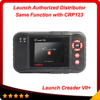 Wholesale Multi brand cars original Launch CreaderVII auto code reader scanner same function with CRP123