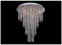 Wholesale New Arrival Modern Crystal Chandelier Light Contemporary Crystal Ceiling Light Lamps Light G4 Bulb Included Living Room Lighting V V