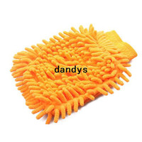 Wholesale High Quality Microfiber Chenille Car Cleaning Cloth Chenille Car Cleaning Glove PX dandys