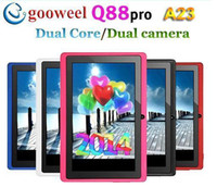 Wholesale dhl fedex cheap hot Factory price AllWinner A23 Dual Core Android inch MB GB WIFI Dual Cameras quot tablet PC Free Drop shipping
