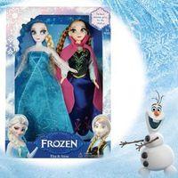 Wholesale Retail Frozen Anna Princess Empress Elsa Hans Kristoff Sven Olaf Action Figures Doll Classic Toys Decoration Children s Gifts