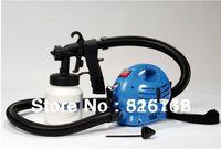 Airless Spray Gun Paint Spray Gun 800ML Drop Shipping Electrical Spray Gun HVLP Paint Zoom 110V & 220V Trigger Airbrush New 2014 Air Brush