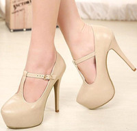 Women Pumps Stiletto Heel Shoes Women's new fine with nude shoes sexy high heels xz062