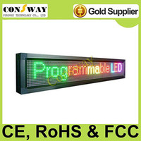 Wholesale led scrolling display board with WIFI RGB color and size cm W cm H cm D