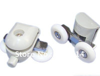 Wholesale Shower Door roller runners double Wheels plastic pulley