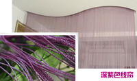 Wholesale cmx280m String curtain string panel fringe panel room divider wedding drapery colors