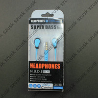 Retail Packing Earphones with Mic Microphone Phone Headset M...