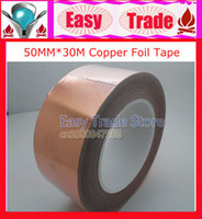 Wholesale Freeshipping MM X M Single Conductive COPPER FOIL TAPE Strip