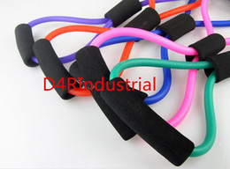 Wholesale Yoga Muscle Exercise Band Resistance Tube Equipment Fitness Workout Band