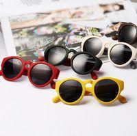Wholesale 2014 New Arrival Men and Women Vintage Retro Round Frame Matte texture Sunglass Funny Hippie Shade Designer Sunglasses Colors