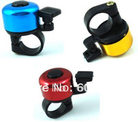 Ordinary Bell Yellow,Blue,Red 0.5KG 10 Pieces Lot High Quality Bicycle Bell Ring 3 Colour Cycling Metal Ring Bike Bell Free Shipping