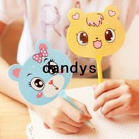Wholesale cute adorable animals ballpoint pen creative fan Student Prizes Promotions dandys