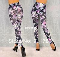 Wholesale S XL New Arrival Fashion Women s Leggings Sexy Jeans Look Pants Fashion Leggings For Women Plus Size Pants Leggings