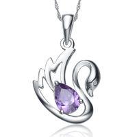 animal jewelry - Aivni fast seller fashion Swan Pendant sterling silver pendants Professional silver jewelry sales ni2106