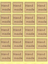 Handmade Sticker, Handmade Label, Packaging Sticker