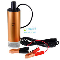 Wholesale Big Promotion W V DC L min r min Diesel Fuel Water Oil Car Camping Submersible Transfer Pump