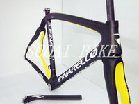 Wholesale PINARELLO DOGMA65 FULL CARBON BIKE FRAME SET DOGMA BLACK ORANGE ZIPP T FSA SML TIME TREK