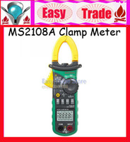 MS2108A   Freeshipping MS2108A 4000 AC DC Current Clamp Meter backlight Frq Cap CATIII vs FLUKE hol